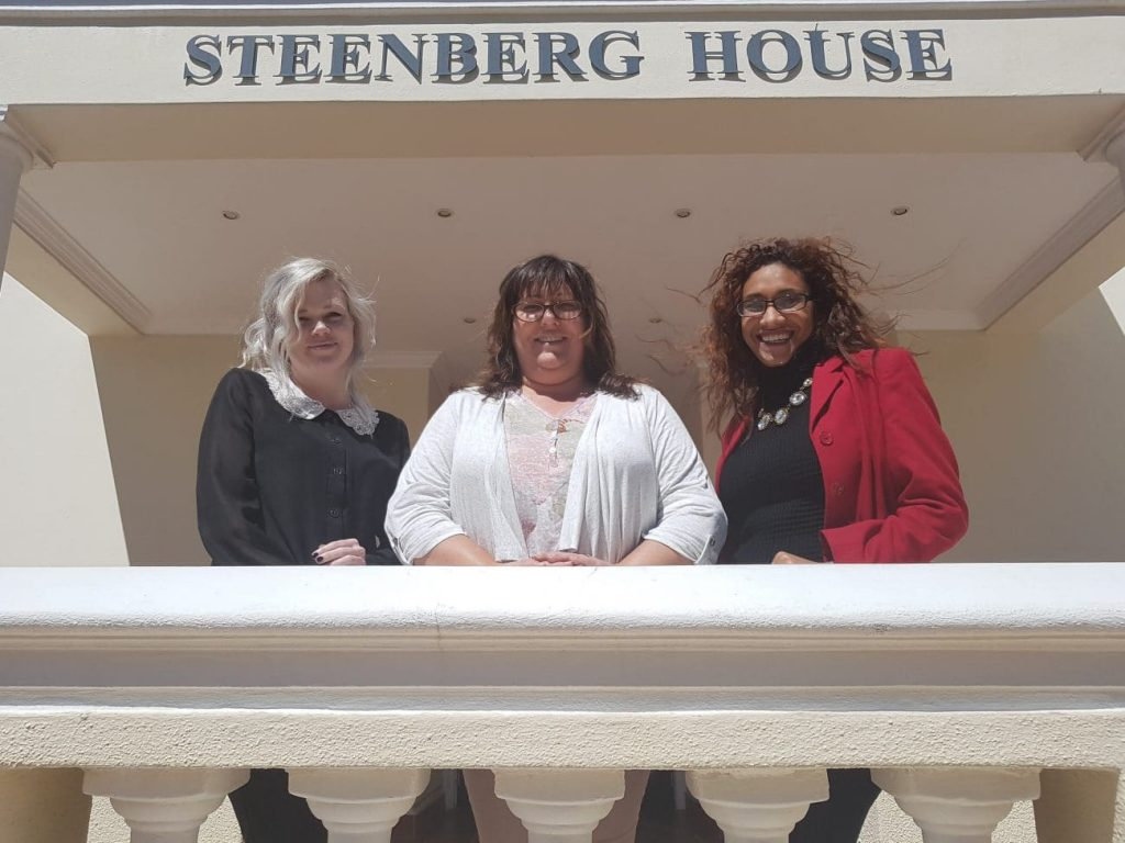 Approach Steenberg House