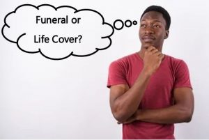 Title of Funeral vs Life Cover article